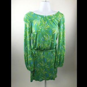 Lilly Pulitzer Susan Seaweed Daisy Darling Dress